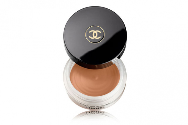 Use a bronzing make-up based prior to your foundation to ramp up the tan. We love Chanel Soleil Tan De Chanel Bronzing Makeup Base, $69