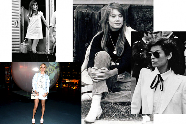 "7. Style icons or inspiration:<p>""I don't really have a style icon, I think it's more about having a great attitude, but the people I look to or respect are Chlo&euml; Sevigny, Bianca Jagger (when she was younger), Fran&ccedil;oise Hardy and <a href=""/fashion/news/jane-birkin-s-granddaughter-wows-the-fashion-world.html"">Jane Birkin</a>. They're all cool girls who marched to the beat of their own drum.""&nbsp;</p>"