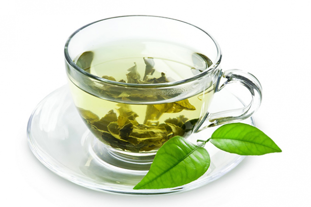 "2. Go green<p><span>Tea, that is. ""Swap coffee for water and herbal tea to flush out toxins and promote radiance,"" says Grant. ""This will help to maintain hydration and prevent premature ageing.""</span></p>"
