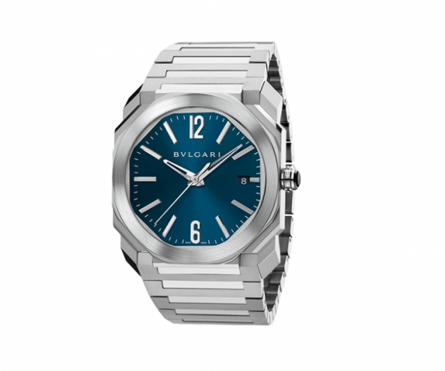 "Octo watch with 38mm steel case, steel bracelet, water resistant 100m<p><a target=""_blank"" href=""http://www.bulgari.com/en-au/"">bulgari.com</a></p>"