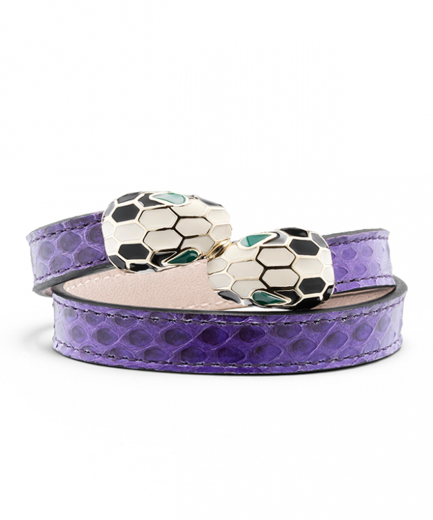 "ABU Bracelet in Shiny Ayers Violet Amethyst/Light Gold, $570<p><a target=""_blank"" href=""http://www.bulgari.com/en-au/"">bulgari.com</a></p>"