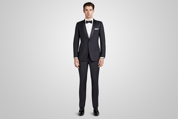Harrolds Private Label Navy French Dinner Suit