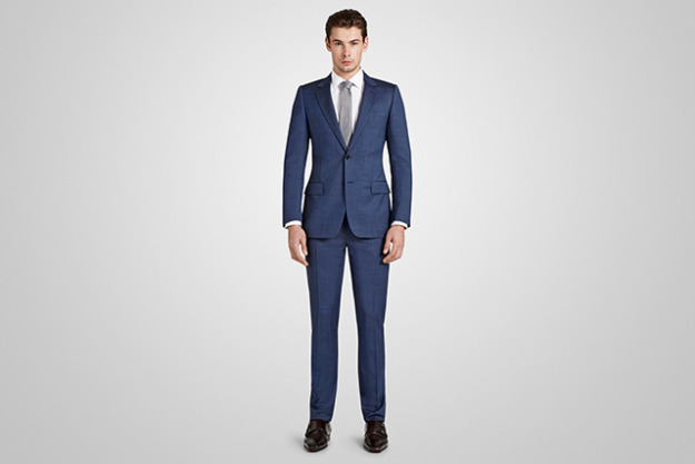 Harrolds Private Label Navy British Suit