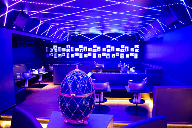 "Bonbonniere, London<p><span style=""font-size: 17px; line-height: 29px;"">When a club's interior is modelled on the Faberge Egg, you adjust your expectations accordingly. One of London's newest clubs (it opened in November last year), </span><a style=""font-size: 17px; line-height: 29px;"" target=""_blank"" href=""http://www.bonbonniereclub.com/"">Bonbonniere</a><span style=""font-size: 17px; line-height: 29px;""> is also one of its most luxurious - VIP guests are showered with the gifts that line the walls (it's all in the name, after all), while upstairs boasts a ritzy restaurant and rooftop terraces overlooking Mayfair.</span></p>"