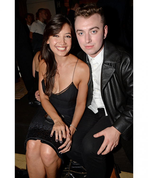 Daisy Lowe and Sam Smith