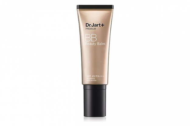 Dr. Jart BB Cream 50+. The ultimate beauty multi-tasker! Dr Jart saves the day with this primer, illuminator, mattifyer, pigmentation- and redness-cancelling high level SPF cream all in one! Apply after your moisturiser and use with or without foundation.