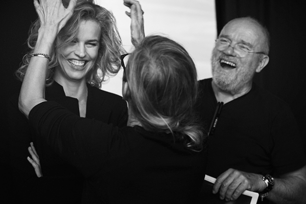 Eva Herzigova and Peter Lindbergh