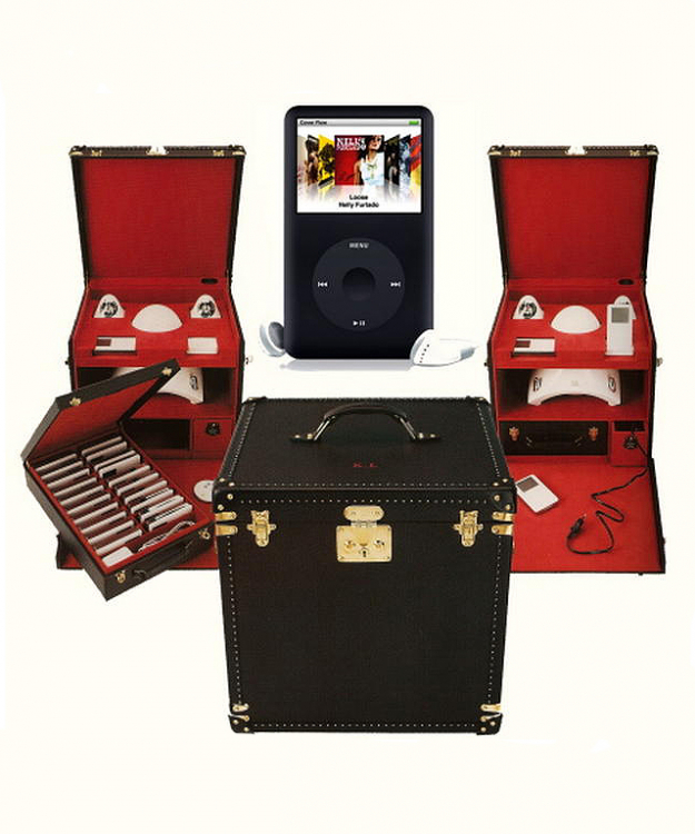 Karl Lagerfeld's iPod trunk