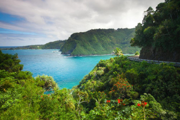 Road to Hana, Maui, Hawaii: Leave resort life behind and set off on the notoriously windy road to Hana – myriad waterfalls, black sand beaches and famous banana bread await.