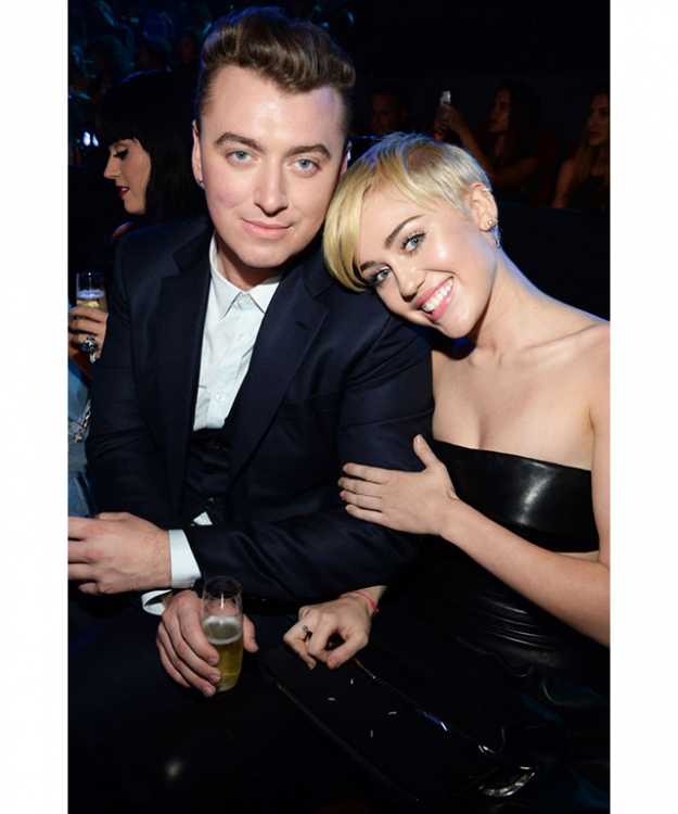 Sam Smith and Miley Cyrus