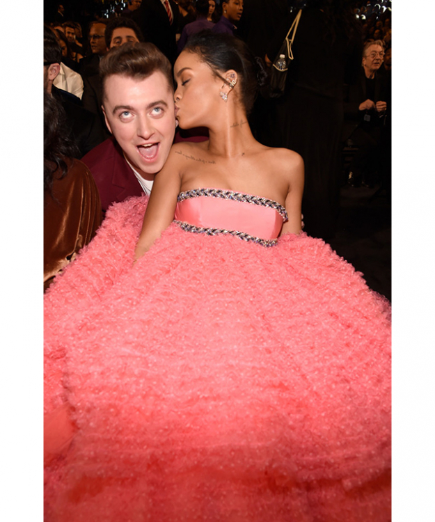 Sam Smith and Rihanna