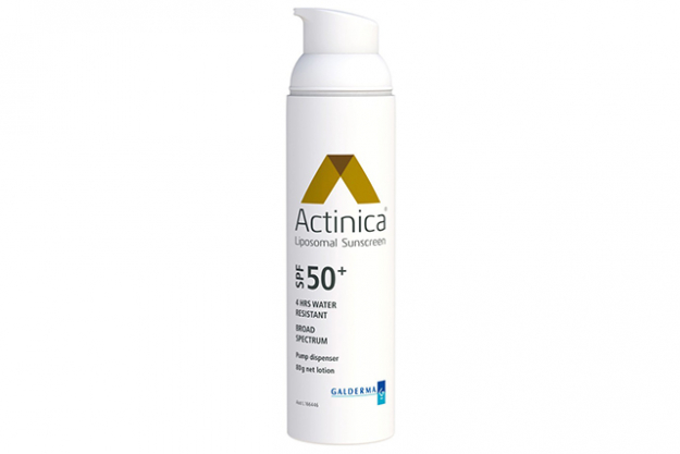 "Actinica SPF 50+ lotion: this is what you'll find in beauty editors' and skin therapists' bathroom cupboards – superstar facialist Melanie Grant is a fan.<p><span><a href=""http://www.actinica.com.au"" target=""_blank"">actinica.com.au</a></span></p>"