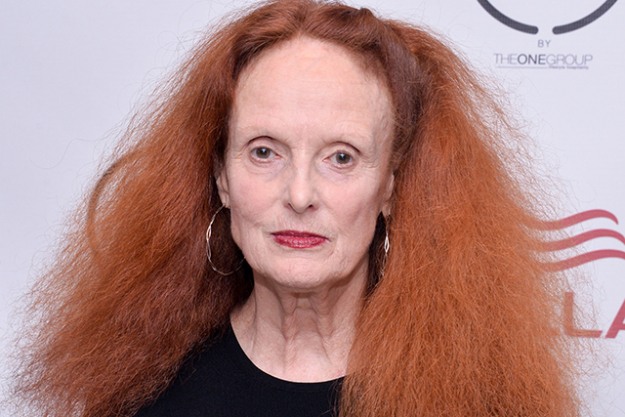 Ok, so she's not a designer per se but the inimitable Grace Coddington, Creative Director of US Vogue announced that she is stepping down from her almost 30-year tenure at the magazine.