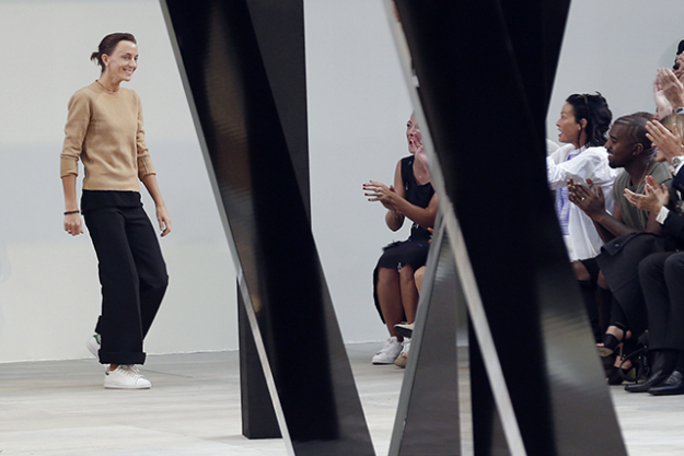 Rumoured: It's been suggested that after next month's Celine's A/W '16 collection, Phoebe Philo will cease designing as creative director, but reps at Azzedine Alaia have put a stop to persistent rumours that the designer was in talks to step in.