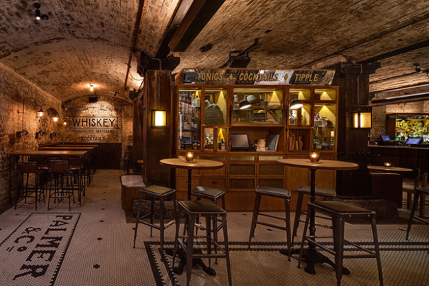 "Palmer &amp; Co, Sydney<p><span style=""font-size: 17px; line-height: 29px;"">One of the jewels in Merivale&#39;s portfolio of bars, pubs and eating establishments, Palmer &amp; Co&#39;s underground den is furnished like a modern-day speakeasy - all exposed brick walls, crystal tumblers, flapper waitresses and three-piece suited bartenders. Nestled in the heart of Sydney&#39;s CBD, its award-winning bar staff are known for whipping up a mean Prohibition-era whiskey cocktail to the tune of the live music that plays Tuesday through to Saturday.&nbsp;</span><span><a target=""_blank"" href=""http://merivale.com.au/palmerandco/"">merivale.com.au/palmerandco</a></span></p> <p>&nbsp;</p> <p>&nbsp;</p>"