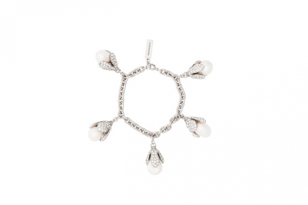"Balenciaga Holiday Collection Eugenia Charms Bracelet in brass, strass and natural pearl<p><a target=""_blank"" href=""http://www.balenciaga.com/au/women/jewelry"">balenciaga.com/au/women/jewelry</a></p>"