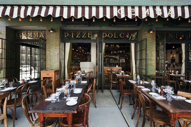 "Restaurant: ""Gemma in Downtown New York at the Bowery Hotel. They have the best Italian!"""