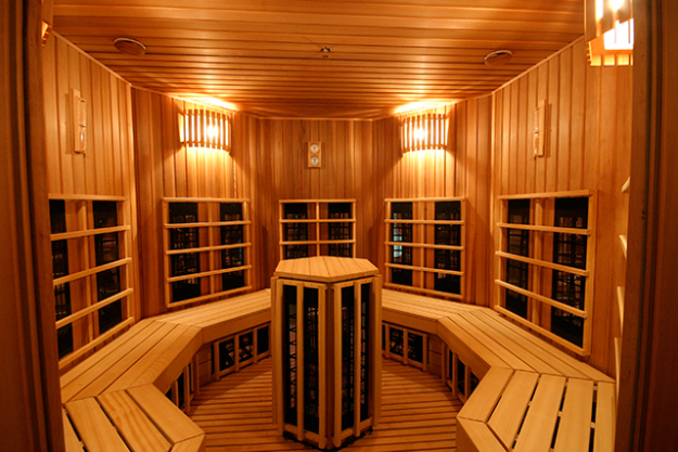 "Sweat<p><span style=""font-size: 17px; line-height: 29px; text-align: left;"">I'm a habitual user of infrared saunas year round, but the health benefits are even more potent during winter. Infrared sauna is deeply detoxifying and increases circulation, relieves stress and pain, promotes weight loss and purifies the skin. If an infrared sauna is not available, jump in for a sweaty session in a regular sauna; you will get much of the same benefit.</span></p>  <p>&nbsp;</p>  <p>&nbsp;</p>"