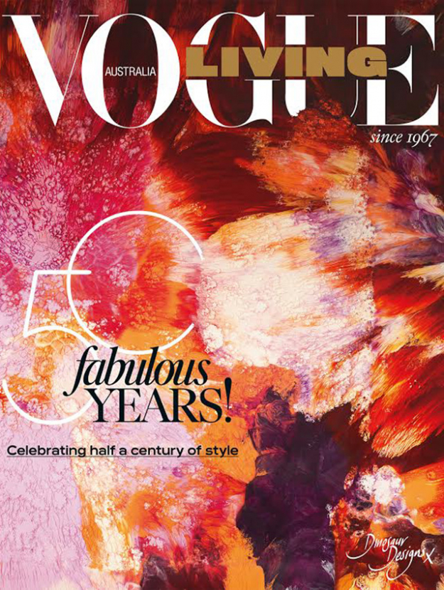 The Vogue Living 50-Year Anniversary issue on sale now