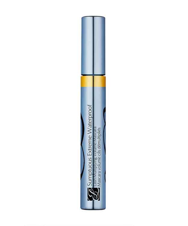 Waterproof mascara: Scorching temperatures increase the risk of smudgy eye make-up, so switch your usual mascara with a waterproof formula. It will also allow you to jump freely into the ocean without the risk of panda-eyes forming. Double win. Try: Estee Lauder, Sumptuous Extreme Waterproof Lash Multiplying Volume Mascara, $48