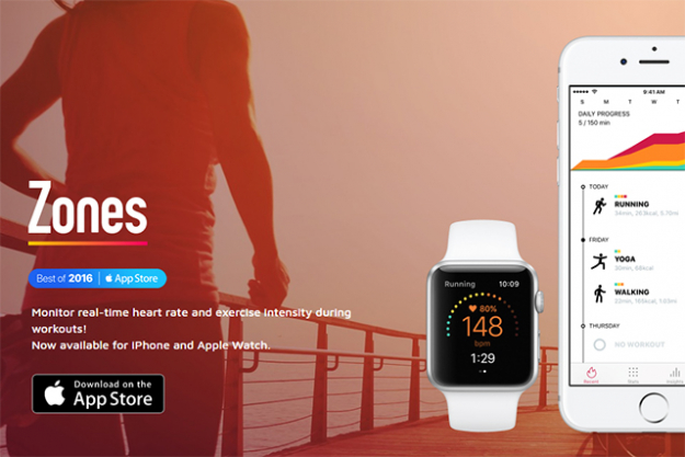 "Zones for Training: This app shows you your exercise intensity using your real-time heart rate data collected by Apple Watch, and it has four heart rate zones to understand your exercise intensity at a glance. With these four zones, you can start heart rate training very easily and quickly.<p><a data-saferedirecturl=""https://www.google.com/url?hl=en-GB&q=https://itunes.apple.com/au/app/zones-for-training/id1139688415?mt%3D8&source=gmail&ust=1515644167466000&usg=AFQjCNEd6vdSsOU84mXVSashIgUJ3NE0ug"" target=""_blank"" href=""https://itunes.apple.com/au/app/zones-for-training/id1139688415?mt=8"">Zones for Training</a><span> - Free</span></p>"