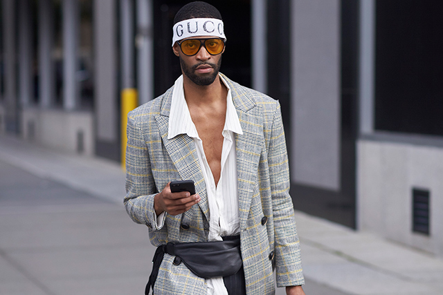 Click through to view the 10 men you meet at Fashion Week