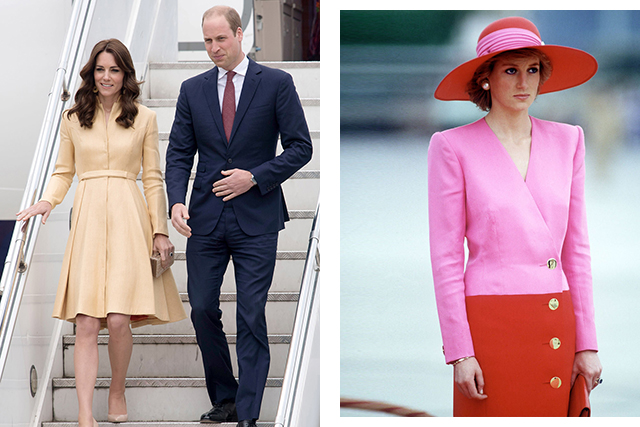 Princess Diana, Kate Middleton and Meghan Markle's most stylish royal moments.