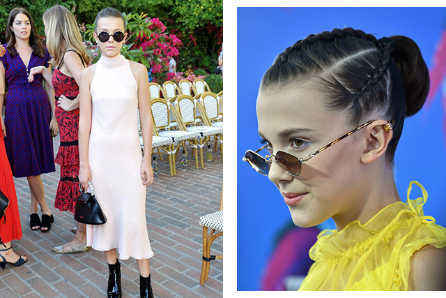 See 13 year-old Millie Bobby Brown's impressive style file