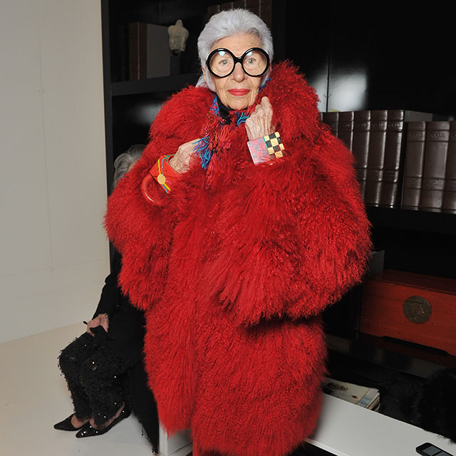 """Personal style is curiosity about oneself."" - Iris Apfel"