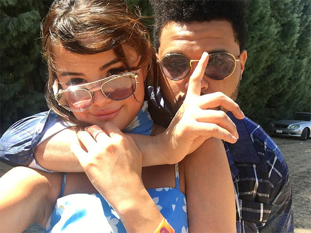 Salt in the wound: Click through for all of the Instagram photos of Selena Gomez and The Weeknd