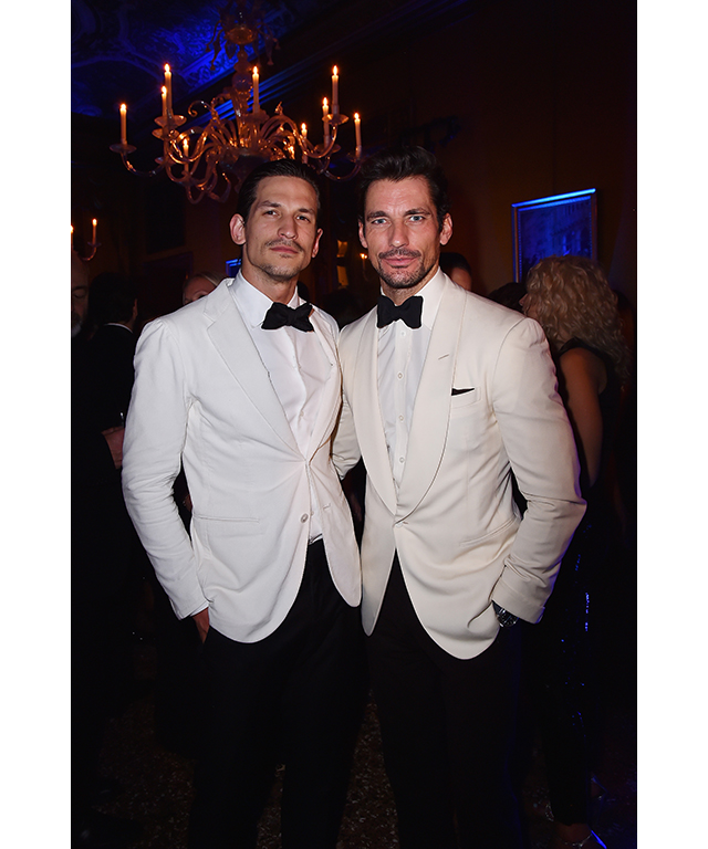 Jarrod Scott and David Gandy