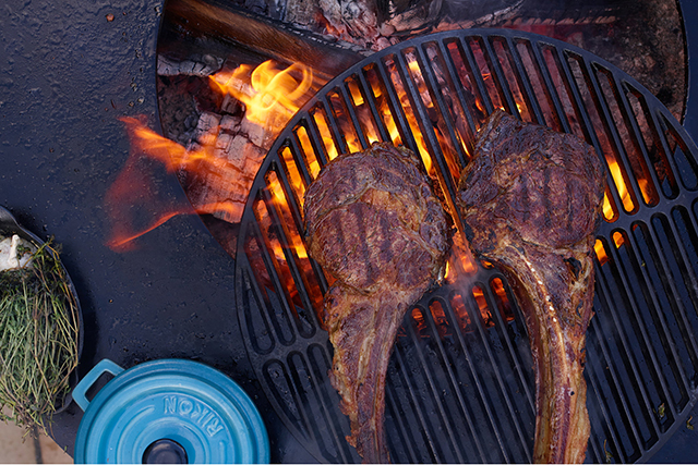 1.	Master the grill. If you really can't master the art of cooking a steak? Phone a friend.
