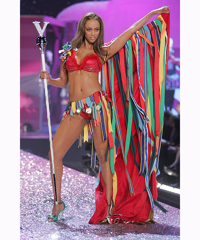Tyra Banks On The Runway: The 10 Best Moments From The Victoria's Secret Runway