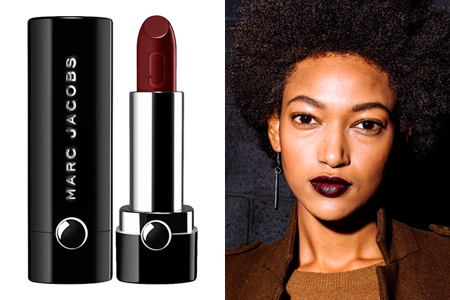 2.	Marc Jacobs Beauty Le Marc Lip Crème, $47, sephora.com.au. A limited edition, this was the exact shade used on the A/W 2017 runway. The deep, dramatic plum is perfect paired with eveningwear.