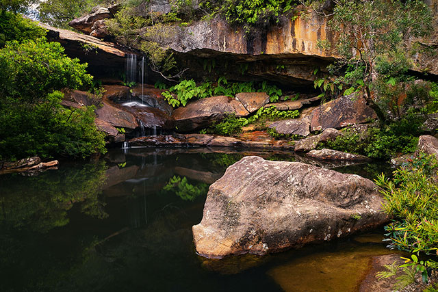Upper Gledhill Falls: If Lovetts Pools are proving too hard to find, while you're in the area, you could also check out Upper Gledhill Falls, another wonderful swimming hole in Ku-Ring-Gai National Park. While it's also hard to find, it's slightly easier than Lovetts, and near the road (though you might still want to pack enclosed shoes). This pool is slightly larger than Lovetts Pools and has a fun rope swing you can pull yourself on to, but does get busier and parking is limited. To get here, take McCarrs creek road and you'll come to a bridge over McCarrs Creek where you can park and then follow the worn out path to the sound of rushing water…. Good luck!