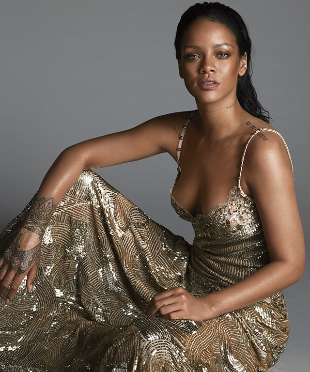 Rihanna, singer, Harvard Humanitarian of the Year 2017 and Clara Lionel Foundation founder
