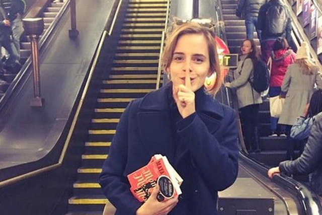 Emma Watson: Our Shared Shelf