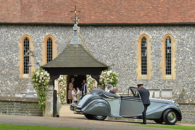 3.	The church ceremony was held in Englefield Green, Berkshire.