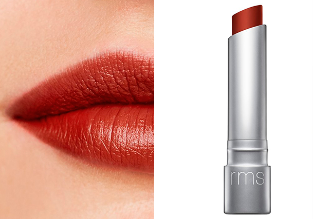 3.	RMS Beauty Wild With Desire Lipstick in Rapture, $41. Available December 26. mecca.com.au. A grown-up brick red that's warm enough to suit most complexions. Bonus: it's made from completely organic ingredients.