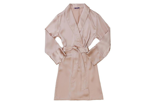 FOR HER: Journelle, Coco Robe in Blush, $184 (USD).