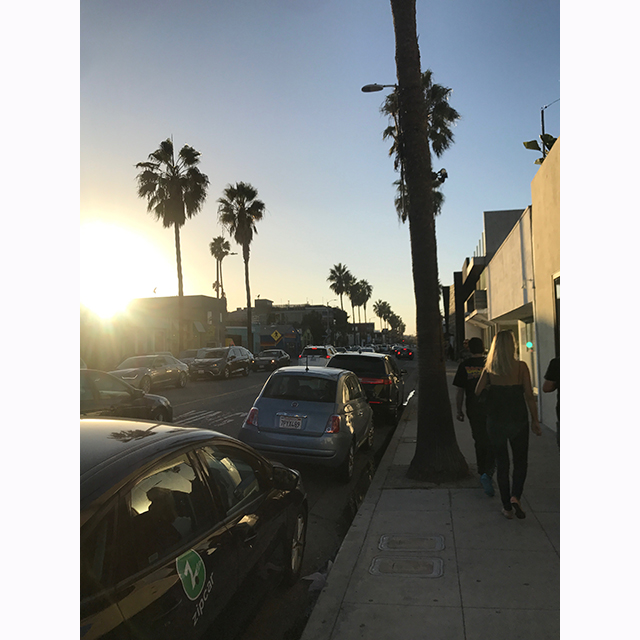 Abbott Kinney, Venice: A sunset over Abbott Kinney is one of my favourite ways to end the day in LA. I love walking down here at sunset. Not only for the shops, but for the buzz & vibe that the street brings.