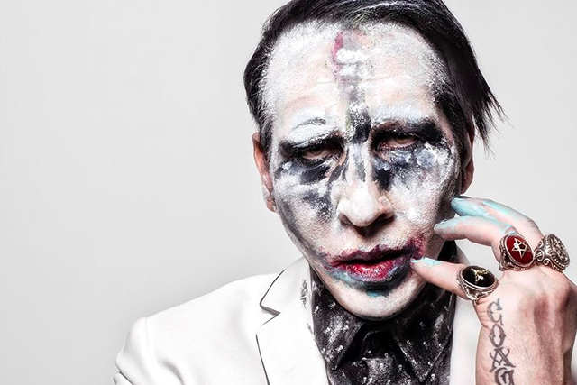 Marilyn Manson. Perhaps the weirdest request in history of rock and roll – we shit you not – a bald prostitute with no teeth. We'll just leave this here.