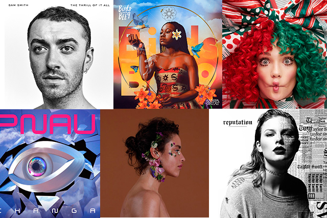 Expect a mixed bag of tunes to drop this month, including Taylor Swift's 'Reputation' and Sam Smith's 'The Thrill of it All'. Other highlights: Dillon's 'Kind', 'Rest' by Charlotte Gainsbourg, Sampa the Great's 'Birds and The Bee9', Sia's Christmas album 'Everyday is Christmas', King Gizzard and the Lizard Wizard's 'POLYGONDWANALAND', Bjork's 'Utopia', Noel Gallagher's High Flying Birds 'Who Built the Moon?' PNAU's return with 'Changa'.