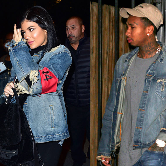 4.	Rob and Blac Chyna have a baby, then break up in explosive, car crash fashion. Kylie and Tyga break up quietly too.