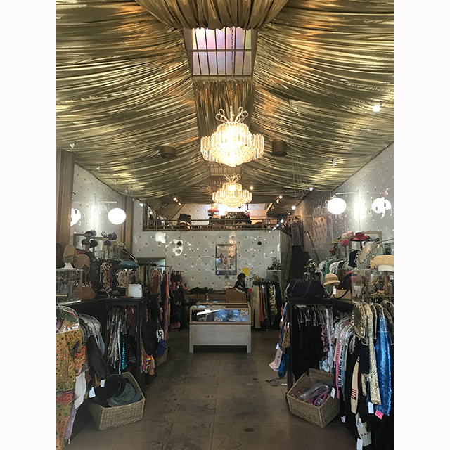 The Way We Wore: One of my favourite vintage boutiques in LA. The owner Dorris Raymond is fabulous & always puts the best things aside for me.