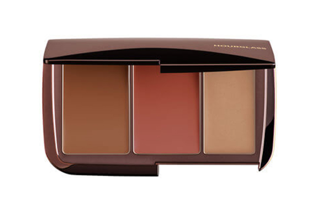 4.	Bronzer/illuminator: Hourglass Illume Sheer Colour Trio in Sunset. It has everything you need in one compact.