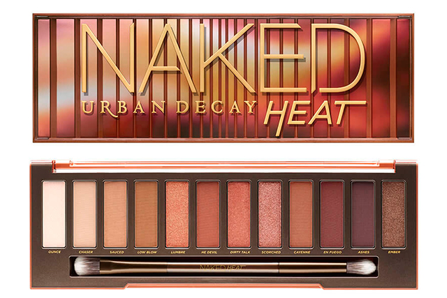 5.	Another cult beauty buy, Urban Decay Naked Heat Eyeshadow Palette, $83, didn't even make it to launch! The online pre-launch sold out in just THREE HOURS in July at Mecca… and stocks are still empty. *sob*