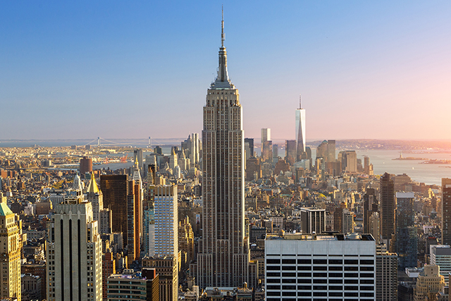 5. Empire State Building, USA. We think we can thank Meg Ryan and Tom Hanks' meet-cute in 'Sleepless in Seattle' for this one… or perhaps altitude really does something to the heart?