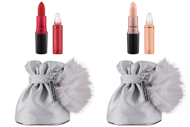Snow Ball Shadescents kits in Ruby Woo and Creme D'Nude, $59 each