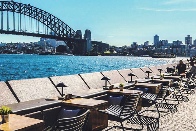 The Opera Kitchen and Bar, City: The Sydney Harbour Bridge is a compelling sight on any day of the week and The Opera Kitchen and Bar ups the ante with a delightful array of nosh and beverages served in the direct sight line of the icon.